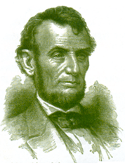 Lincoln in green